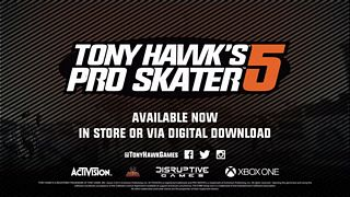 Tony Hawk's Pro Skater 5 - Launch Trailer