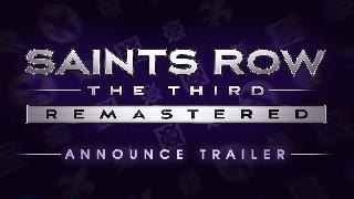Saints Row: The Third Remastered - Announce Trailer