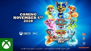PAW Patrol Mighty Pups: Save Adventure Bay | Announce Trailer