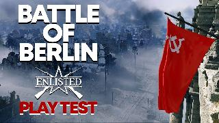 Enlisted | Battle of Berlin Gameplay