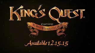 King's Quest - Chapter 2: Rubble Without a Cause Teaser Trailer