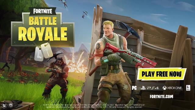 Fortnite Battle Royale Play For