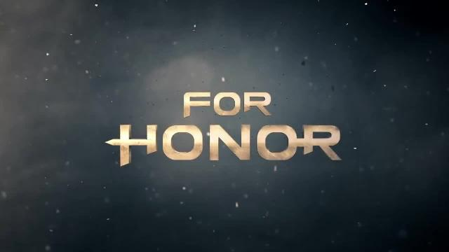 For Honor E3 2015 World Premiere Trailer