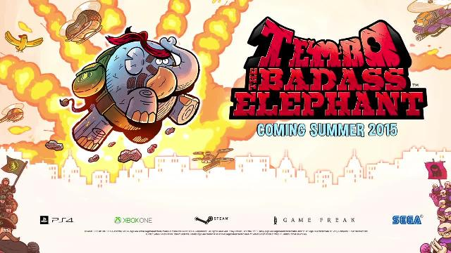 Tembo The Badass Elephant Announce Trailer