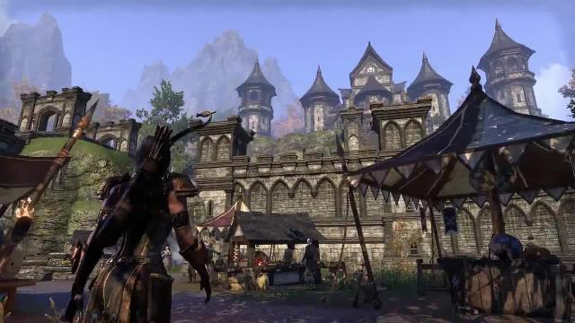 The Elder Scrolls Online Tamriel Unlimited - Exploring Tamriel