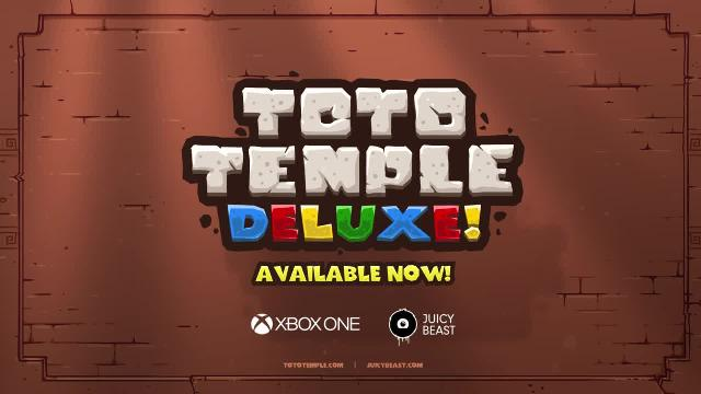 Toto Temple Deluxe - Xbox One Launch Trailer