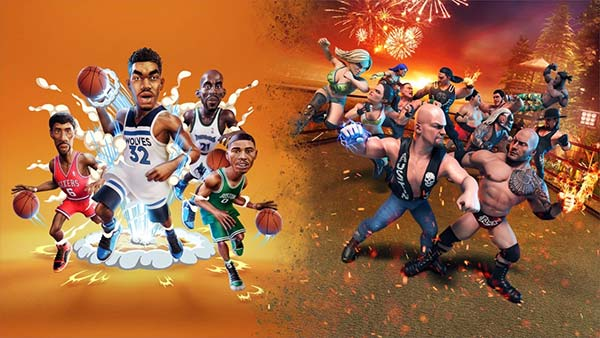 2K Ball N' Brawl Bundle Out Now For Xbox One And Xbox Series X/S!