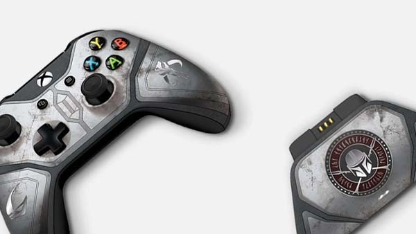 Controller Gear's Mandalorian Wireless Xbox Controller & Xbox Pro Charging Stand Set