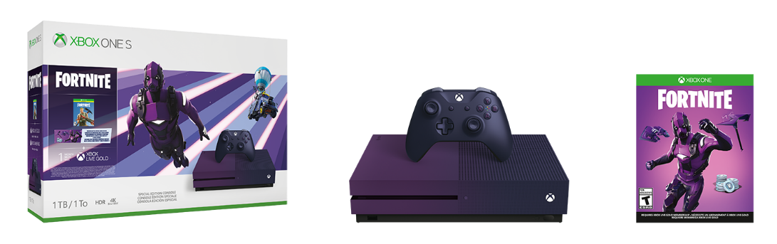 Fortnite Purple Xbox One Bundle