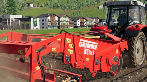 Farming Simulator 19 expands on January 26 with the new GRIMME Equipment Pack!
