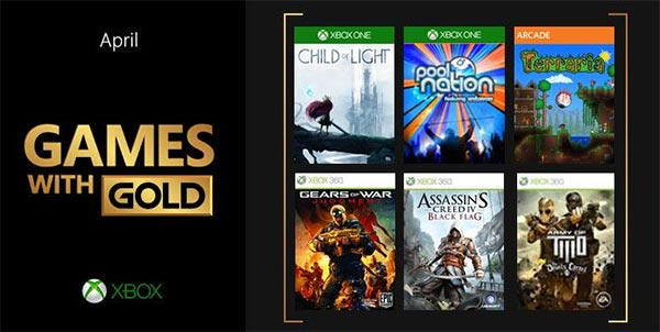 Games with Gold April 2015 - Get Six Free Games