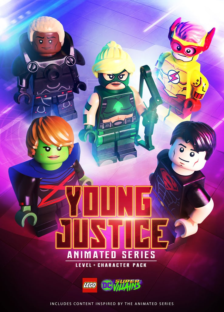 LEGO DC Super-Villains: Young Justice DLC Level and Character Pack