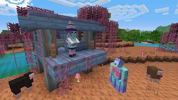 Minecraft Texture Pack DLC