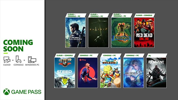 New Games Coming to Xbox Game Pass for Console, Cloud and Windows PC in May 2021