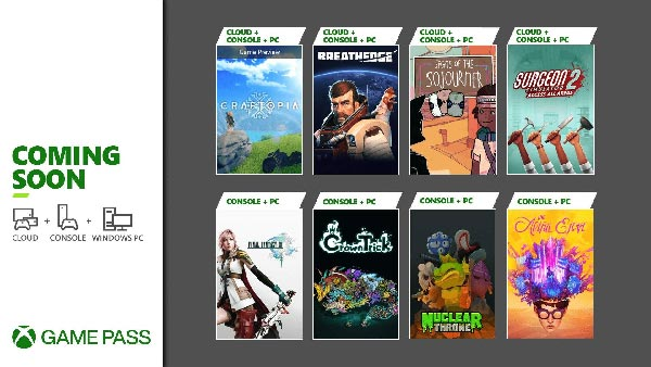 New Games Coming to Xbox Game Pass in September for Cloud, Console and PC