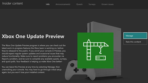Xbox System Update (August 30, 2019)