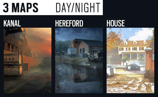 Rainbow Six Siege Open Beta Maps