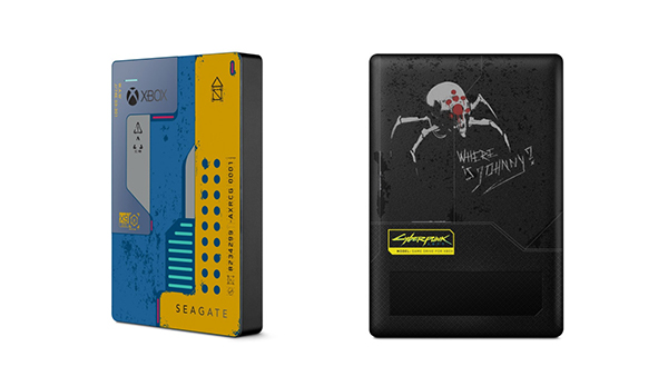 Seagate Game Drive for Xbox: Cyberpunk 2077