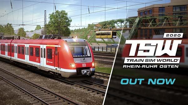 Train Sim World: Rhein-Ruhr Osten: Wuppertal - Hagen is out now on Xbox One,PlayStation 4 and PC!