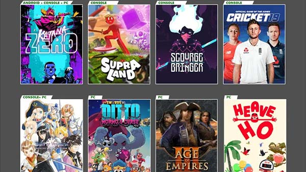 New Games Coming to XBOX GAME PASS for Console, Android and PC (October 2020)