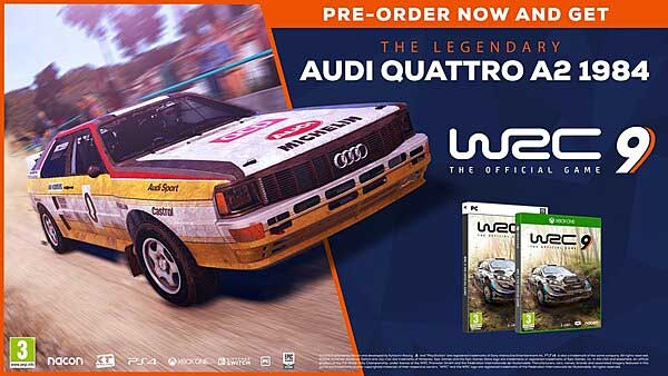 WRC 9 Pre-Order: Exclusive Preorder Bonuses, Editions, Release date and More