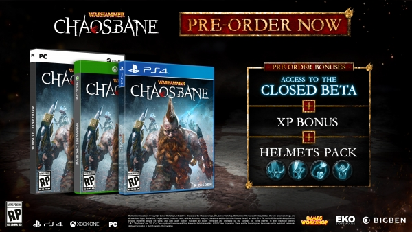 WARHAMMER: Chaosbane release date, beta and pre-order bonuses revealed