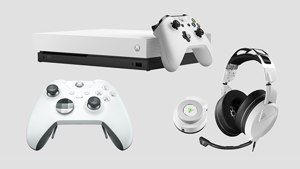 New Xbox Bundle, Elite Controller And Turtle Beach Headset In White