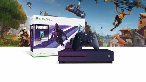 Purple Fortnite Battle Royale Special Edition Xbox One S 1TB Bundle Is Available Now