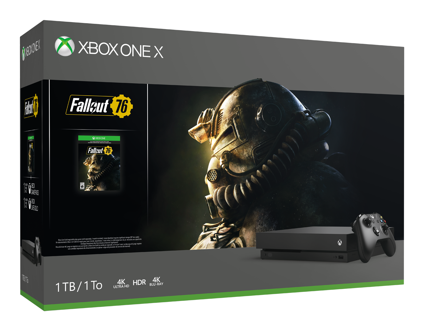 Xbox One X Fallout 76 Bundle