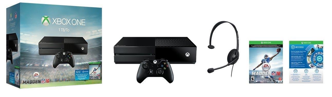 Xbox One Madden NFL 16 Bundle