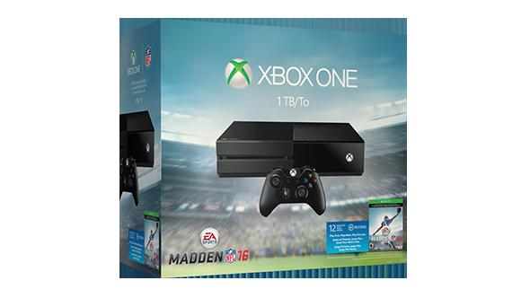 Xbox One Madden NFL 16 1TB Bundle