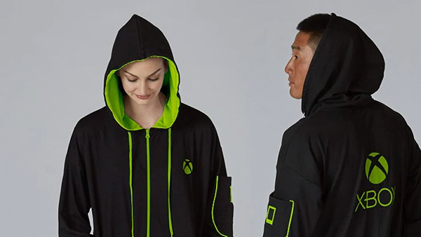 Xbox Branded Hooded Union Suit Green will start shipping on December 13 - Pre-order Your Xbox Gear Now!
