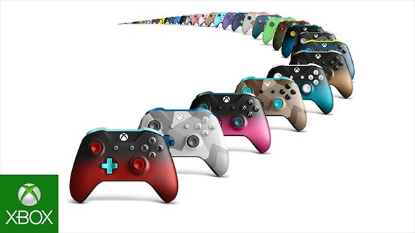 Xbox Design Lab Camo and Shadow Controllers