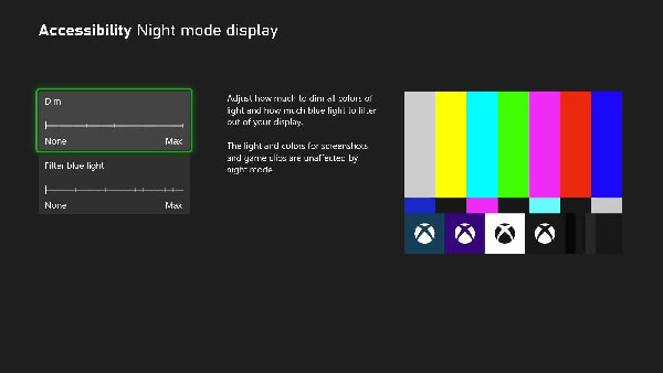 October 2021 Xbox Update Includes 4K dashboard on Xbox Series X consoles, Xbox Night Mode, Quick Settings, and More