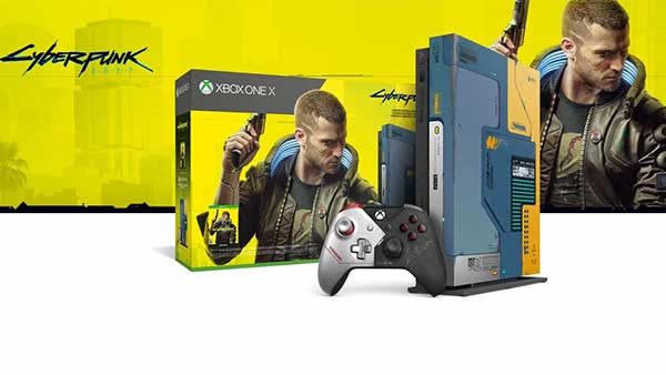 Limited Edition 1TB Xbox One X Cyberpunk 2077 Bundle Is Available Today - Get it now!