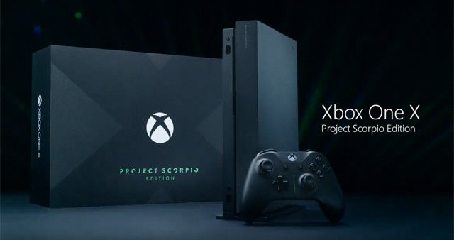 Xbox One X Project Scorpio Edition Now Available For Pre-Order