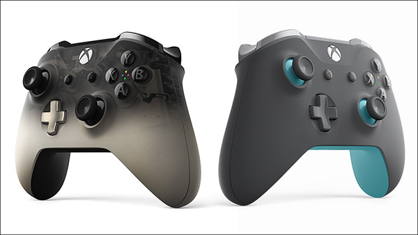 Xbox Wireless Controllers: Phantom Black Special Edition and Grey/Blue Now Available To Pre-Order