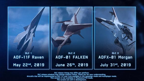 Ace Combat 7: Skies Unknown DLC #2 pack is fueled and ready