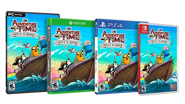 Adventure Time: Pirates of Enchiridion Arrives July 20th on Xbox One, PS4, Nintendo Switch and PC