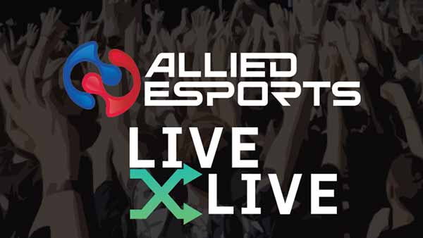 LIVEXLIVE partners with ALLIED ESPORTS to bring together LIVE Music and eSports