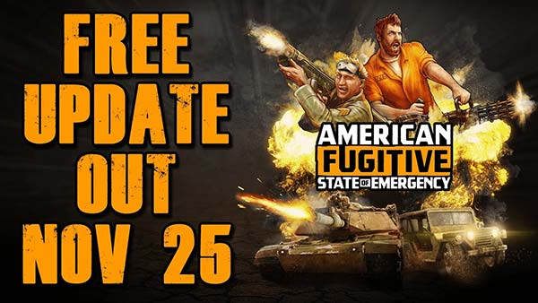 American Fugitive State of Emergency DLC Update