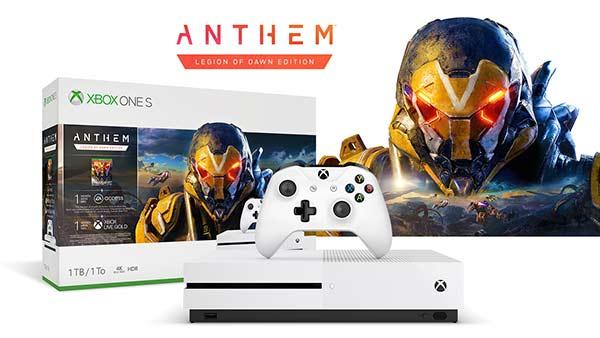 Anthem Legion of Dawn Xbox One S bundle lands February 22