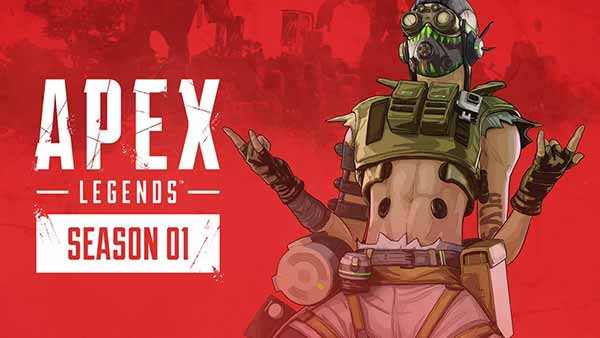 APEX LEGENDS: Season 1 Wild Frontier Battlepass Info - Meet Octane the New Legend