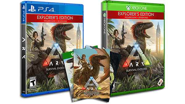 ARK: Survival Evolved Explorers Edition OUT NOW On Xbox One, PS4 and PC