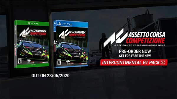 Assetto Corsa Competizione races onto Xbox One on June 23; Digital pre-order and pre-download available now