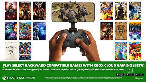 Xbox Game Pass Ultimate Members Get Backward Compatibility On The Clouds
