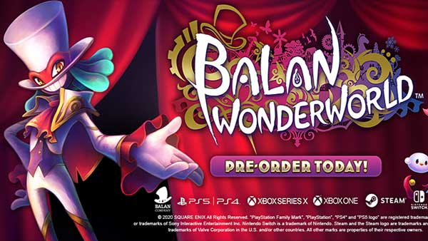 Balan Wonderworld Preorder