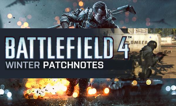 Battlefield 4 Winter 2015 Patch