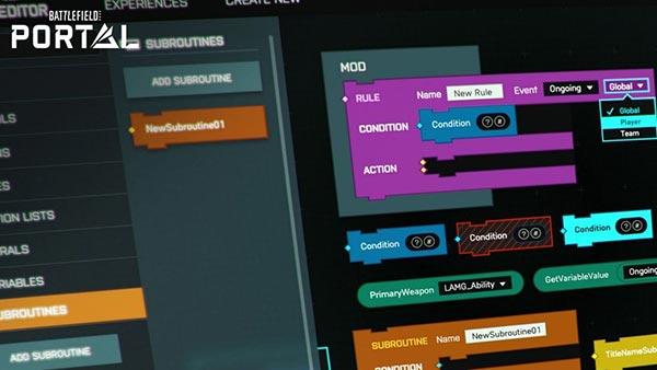 Electronic Arts reveals further details for community-driven Battlefield Portal; Pre-order Battlefield 2042 now!