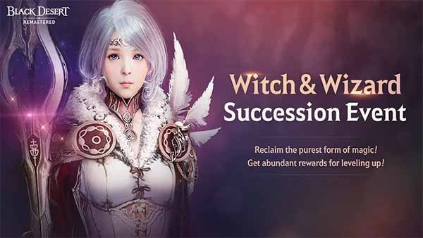 Succession Update for Wizards and Witches Available in Black Desert SEA
